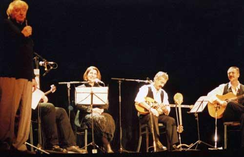 Montauban avec Jacques Lacarrière festival Lettres Automne 2000.