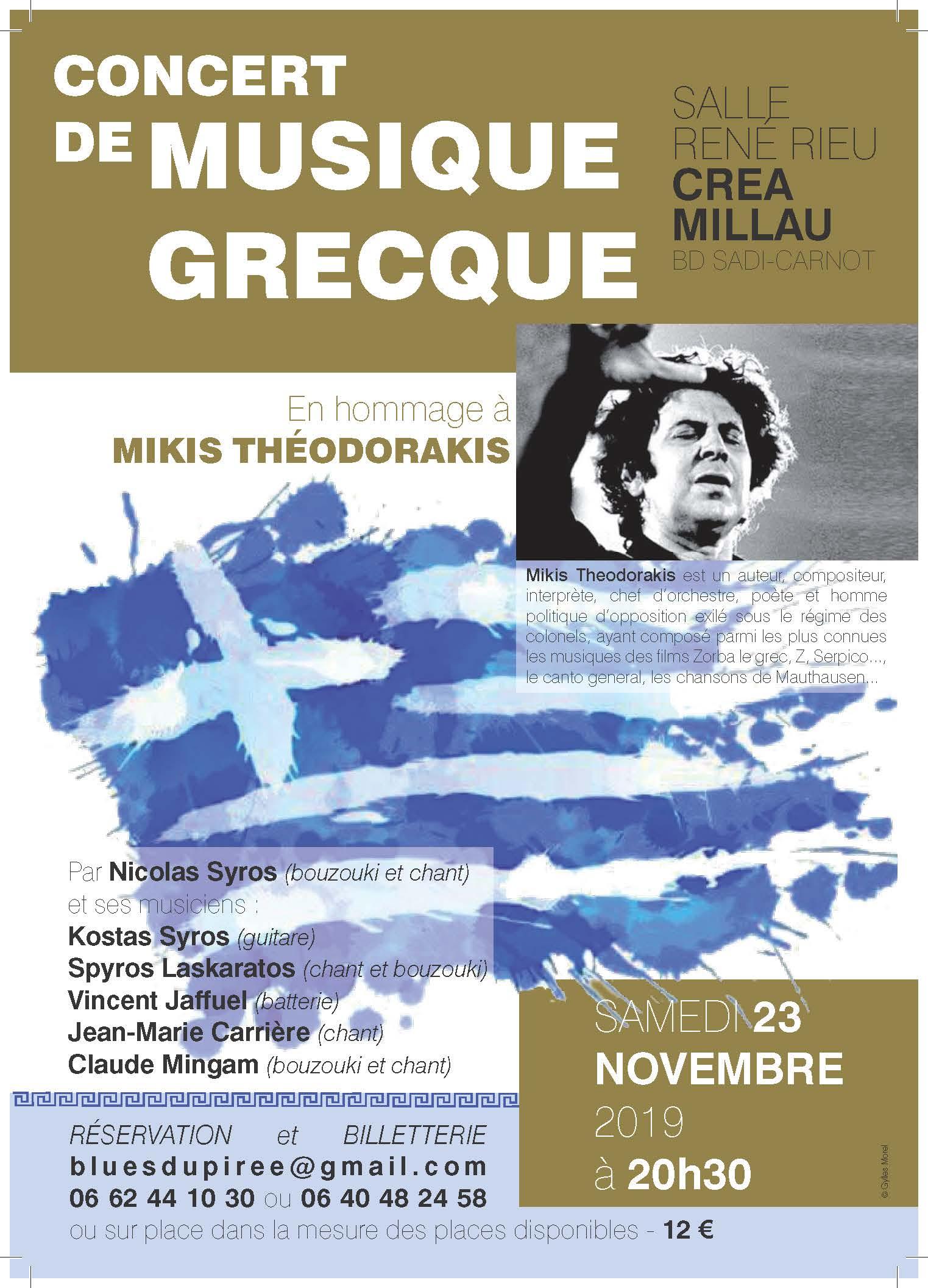 Concert Hommage Theodorakis